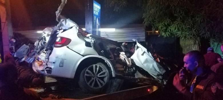 Dos muertos y un herido accidente Estrella Sadhalá