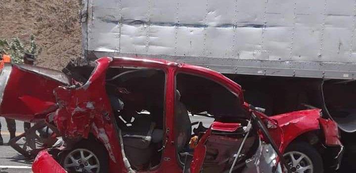 Muertos en accidente de Azua eran de una misma familia