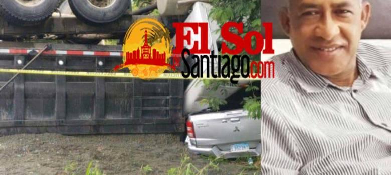 Médico muere en accidente de tránsito en SFM