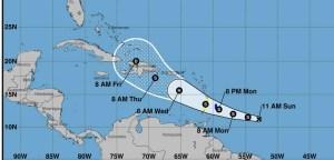 Onamet monitora la tormenta Dorian