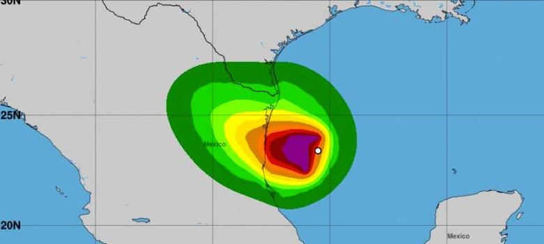 Miami.-El centro de Tormenta Tropical Fernand estaba localizado cerca de la latitud 23.2 norte, longitud 96.3 oeste, moviéndose hacia el oeste a cerca de 7 mph (11 km/h), reportó el Centro Nacional de Huracanes. Se pronostica un movimiento hacia el oeste-noroeste el miércoles, seguido de un movimiento hacia el noroeste en la noche. En esta trayectoria se espera que Fernand cruce la costa noreste de México. Informacion preliminar desde el avion cazahuracanes de NOAA indica que Fernand esta mas fortalecido y sus vientos máximos están cerca de 50 mph (85 km/h) con ráfagas mas fuertes. Fortalecimiento adicional es posible antes de que Fernand toque tierra, precisa el informe del Centro Nacional de Huracanes. Los vientos de fuerza de tormenta tropical se extienden hasta 105 millas (170 km) mayormente al oeste del centro. La presion minima central estimada es 1000 mb (29.52 pulgadas)