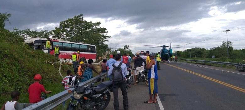 accidente autovía juan pablo II