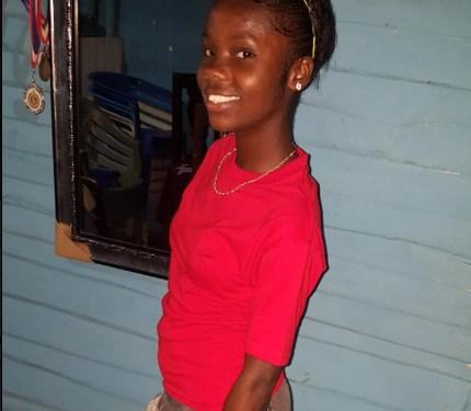 adolescente dominico haitiana