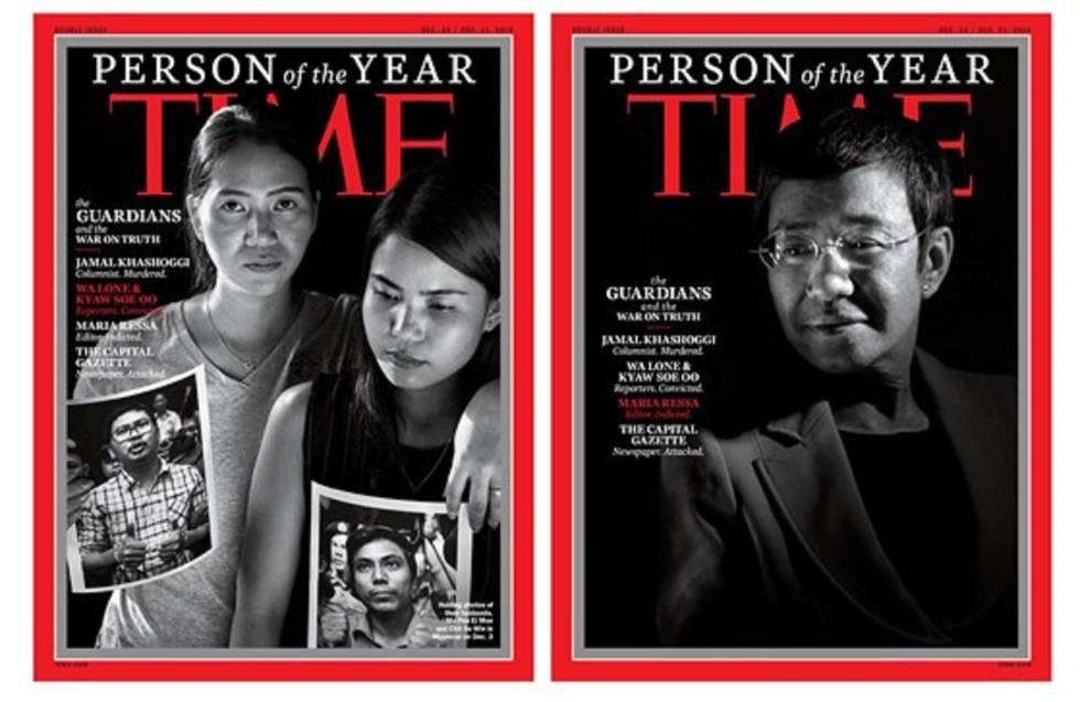 Persona del Año de la Revista Times.