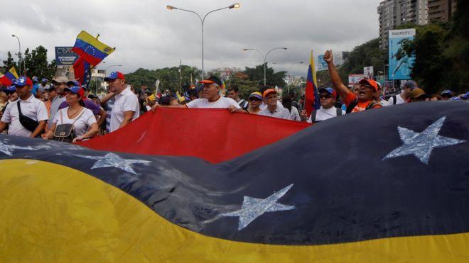 protestas Venezuela 5 - El Sol Latino