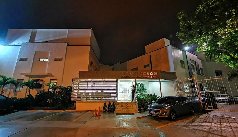 El ex mandatario fue internado la noche del martes. Foto cortesía
