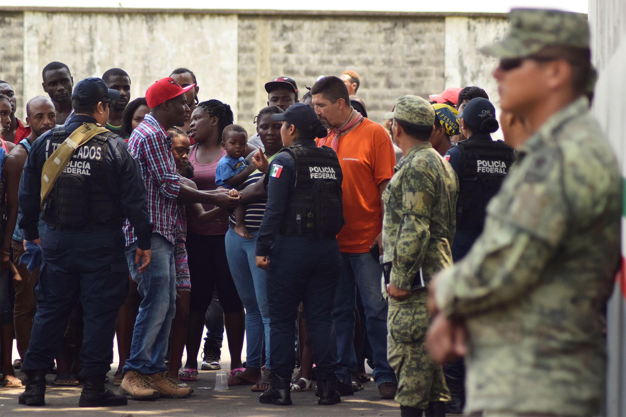 6 mil Guardias Nacionales controlarán el flujo de migrantes en frontera con Guatemala. Foto cortesía