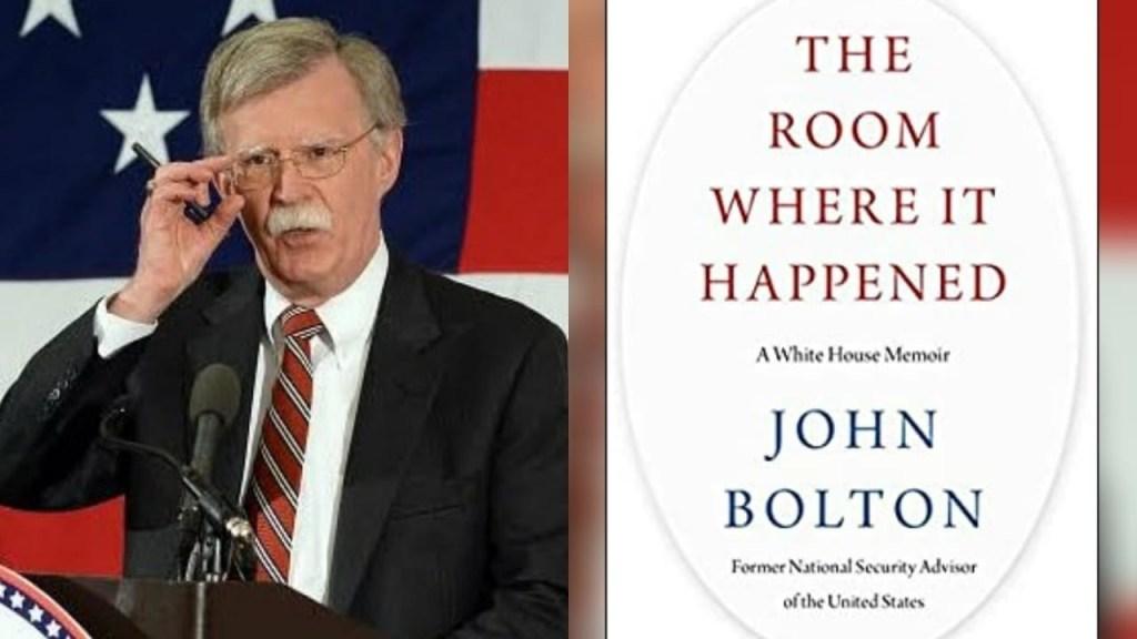 Memorias de John Bolton - Foto Cortesía