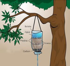 conseguir agua