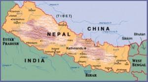 Trekking por la ruta alta del everest, situado en el Nepal, el Himalaya