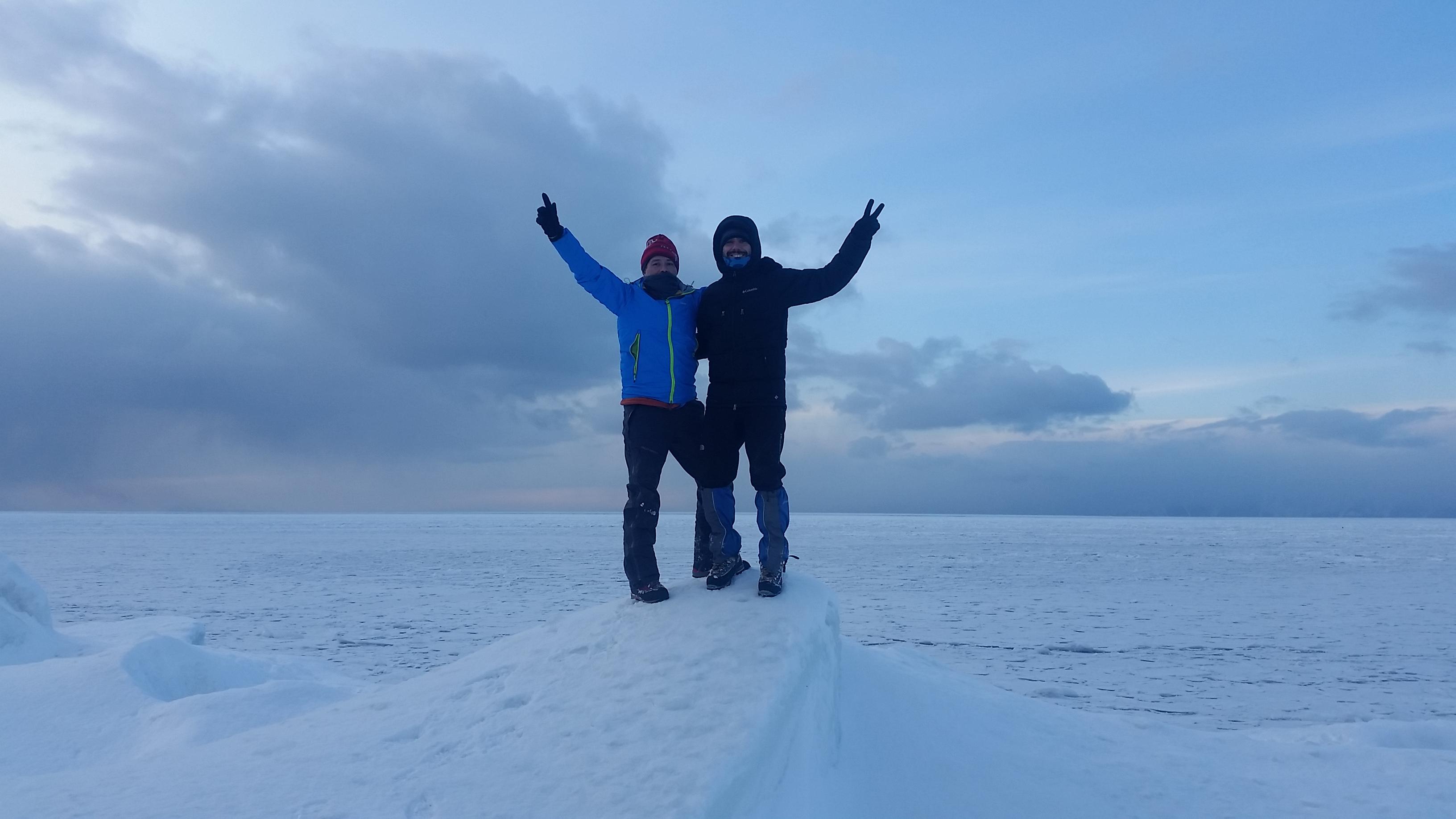 Lago Baikal. Siberia