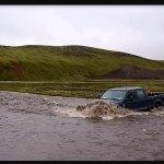 frente a frente a rios de Islandia