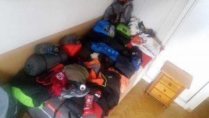 Material y equipo necesario para preparar un viaje de aventura