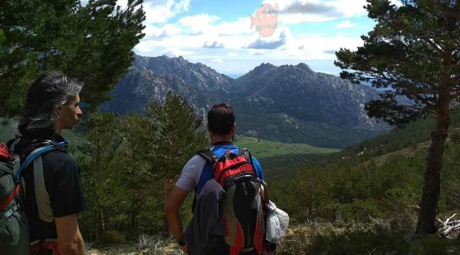 En mi mochila de trekking de un día metí…