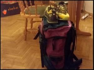 mochila de trekking un dia