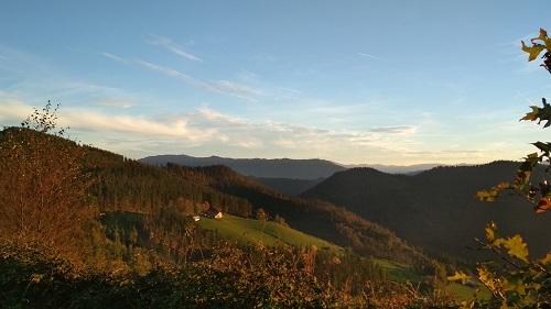 El valle de Olatz en Geoparkea