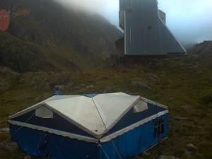 Prohibido acampar en España