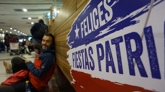 Llegar a Torres del Paine, Chile