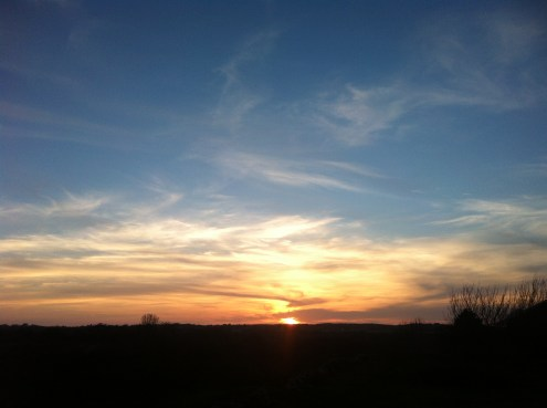 Can I get bored with sunset? Here's another one.
