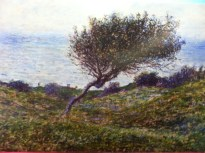 A Monet I had not seen before: Seacoadt at Trouville