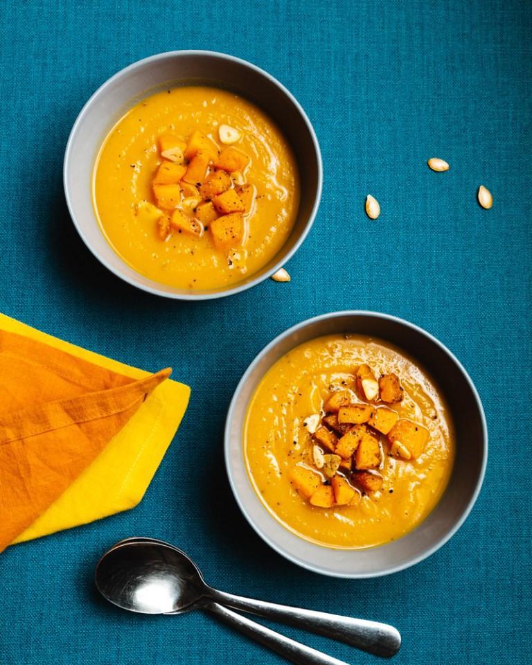 Butternut Squash & Butter Bean Soup