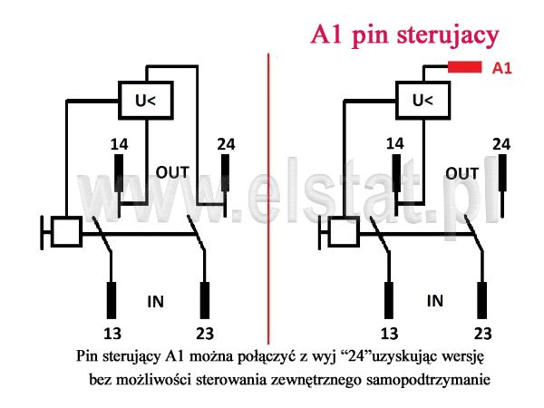 Włącznik elektromagnetyczny; 3- FAZY; DKLD DZ05; 7-pinów