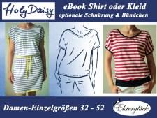 ebook HolyDaisy Schnittmuster Damenshirt Kleid