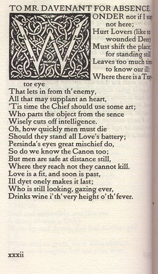 Vale Press Poems of Sir John Suckling