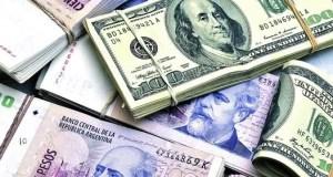 billetes pesos y dolares