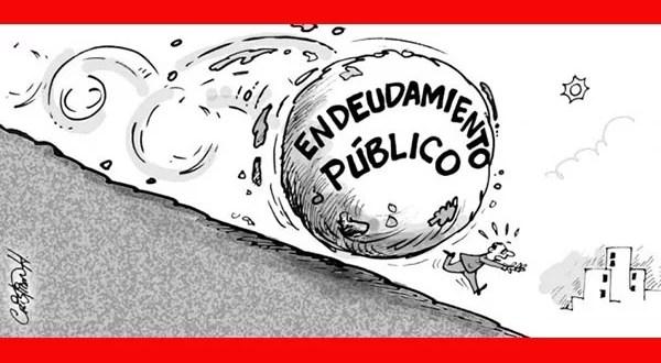 deuda publica dibujo