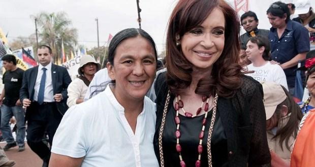 Milagro Sala y Cristina Fernandez de Kirchner copia