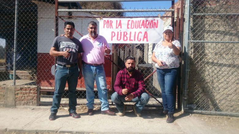 Profesores cesados por reforma educativa, son reinstalados