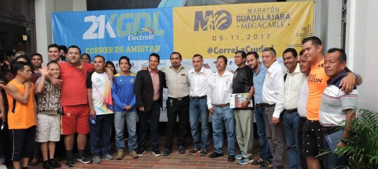 Zapotlenses participarán en medio maratón en Guadalajara