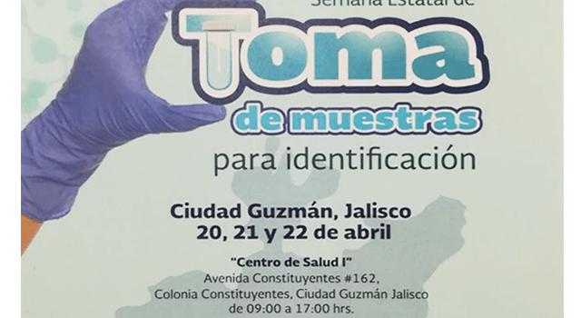 PGR tomará ADN de familiares de desaparecidos en Ciudad Guzmán