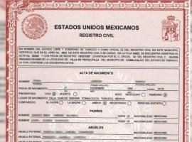 Zapotlán y la región expedirán actas de nacimiento gratuitas