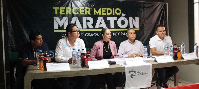 Anuncian Medio Maratón de Ciudad Guzmán para enero