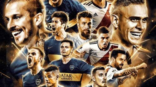 Boca-River en la final de la Libertadores: Se nos cae la Argentina, pibe!