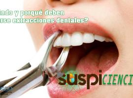 SUSPICIENCIA: ¿Te van a extraer un diente? No tengas miedo, esta información es para ti…