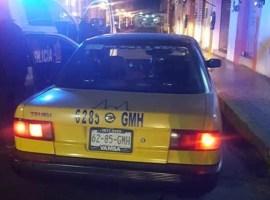 Seguridad Pública recupera taxi con reporte de robo