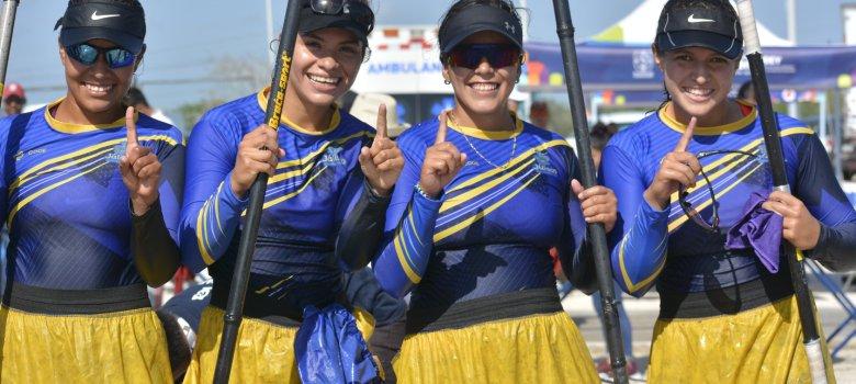 Canoístas zapotlenses dan tres oros más a Jalisco en Olimpiada Nacional