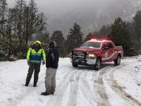 Cierran el acceso al Nevado de Colima