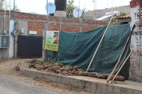 Aún quedan las marcas de los daños. Son visibles las huellas de la inundación en las paredes