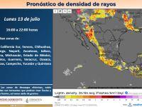 Pronostican fuertes lluvias para Jalisco
