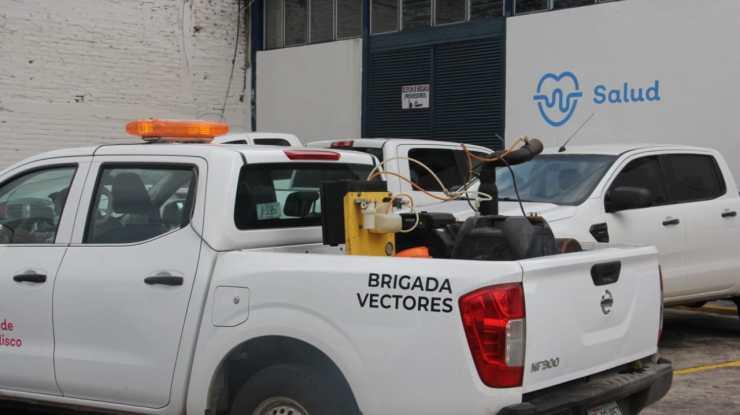 Arrancan trabajos de nebulización contra dengue en Ciudad Guzmán