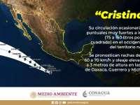 Tormenta tropical Cristina provocará lluvias en Ciudad Guzmán