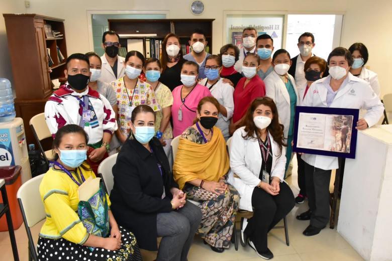 Reconocen al Hospital Regional de Ciudad Guzmán por atención a pacientes con Covid-19