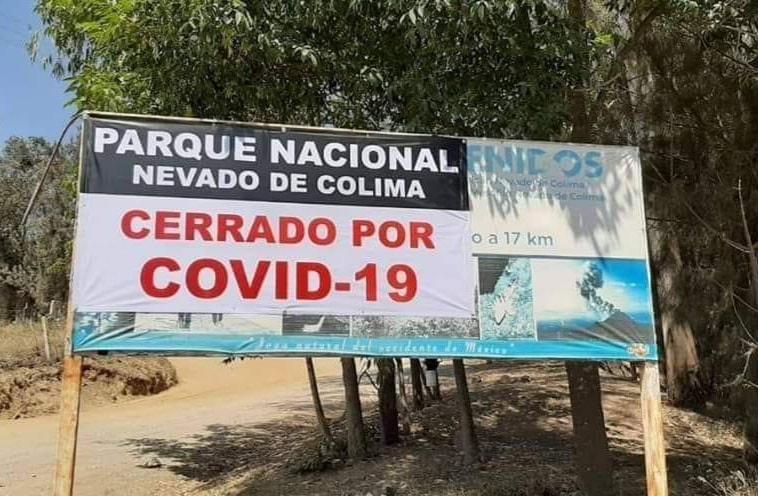 Por semáforo rojo, de nuevo cierran acceso al Nevado de Colima