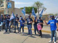 Con medidas sanitarias, arranca la campaña de Modesto Betancourt en Tamazula