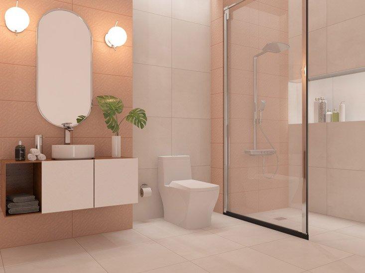 ¿Cómo elegir los cerámicos correctos para nuestro baño?