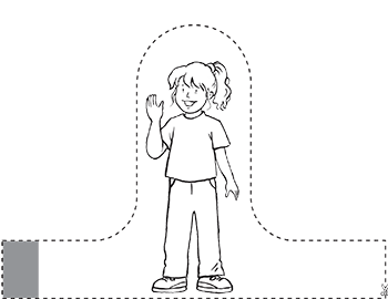 Family Finger Puppets Coloring Coloring Pages